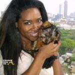 RIP Kenya Moore Dog Velvet StraightFroMTheA 1