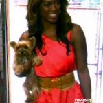 RIP Kenya Moore Dog Velvet StraightFroMTheA 2