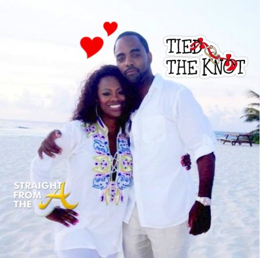 kandi burruss todd tucker just married
