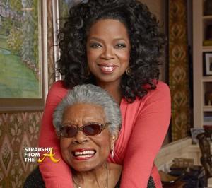 Oprah Winfrey Maya Angelou