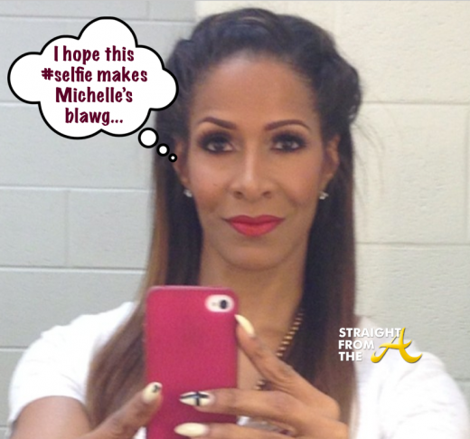 Sheree Whitfield Selfie StraightFromTheA