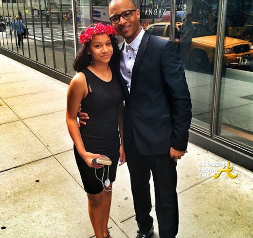Deyjah and T.I. 2014