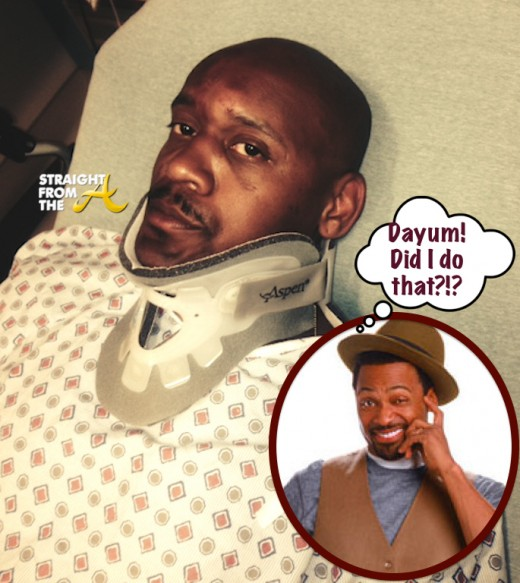 Lavar Walker Beat Up By Mike Epps - StraightFromtheA