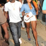 Boo'd Up – Mike Vick and Wife Kijafa Spotted at Compound… [PHOTOS]