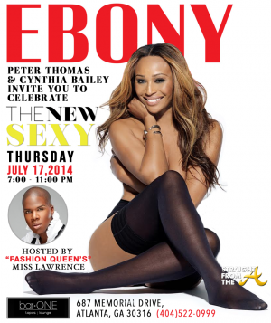 Cynthia Bailey Ebony Party - StraightFromTheA