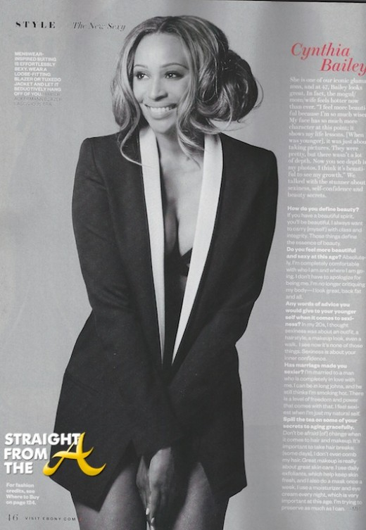 #RHOA Cynthia Bailey Celebrates Ebony Magazine Spread ...