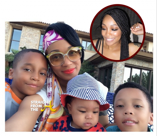 Instagram Flexin – Monica Brown Shares Brand New Braids + More Pics of Baby Laiyah… [PHOTOS]