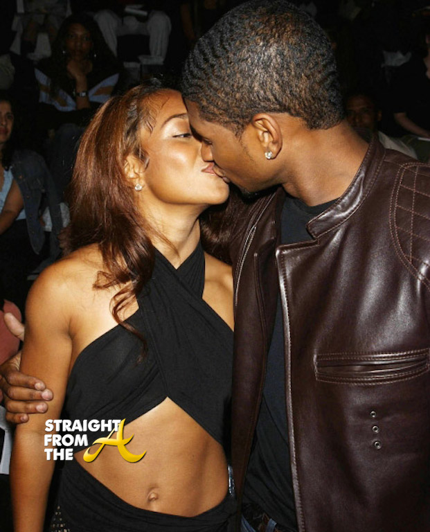 chilli and usher relationship news
