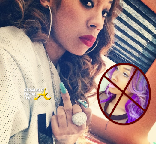 Keyshia Cole Exposes Diamond (Formerly of Crime Mob) As A Homewrecker + Diamond Responds…