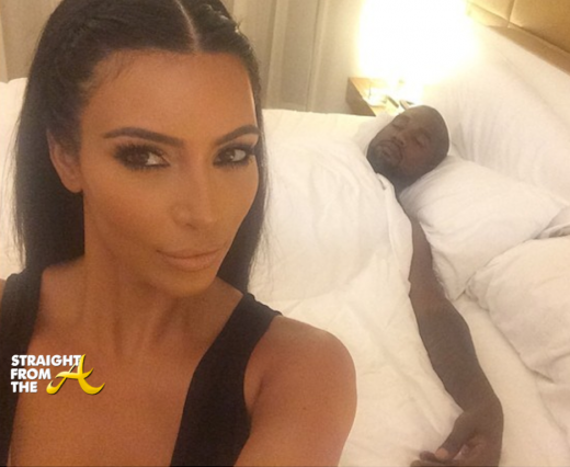 Kim Kardashian Kanye West - SidechicksBLike