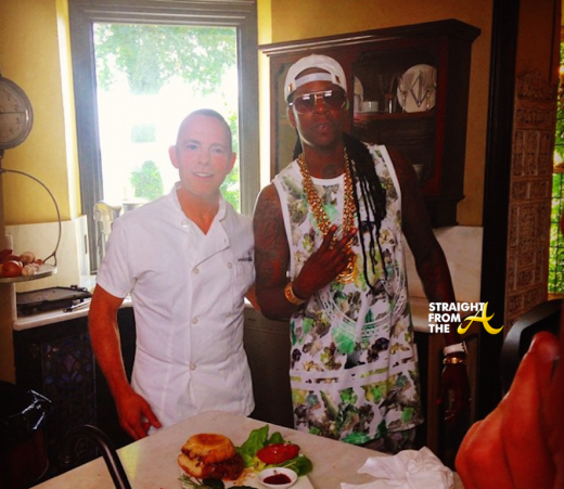 WATCH THIS: 2Chainz Eats The World's Most Expensive Burger… [VIDEO]