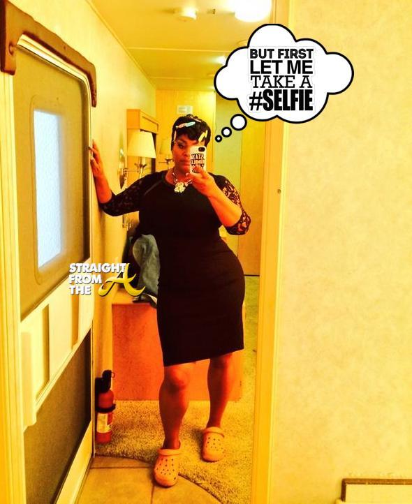 Jill Scott Selfie - StraightFromTheA 2