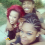 They're BACK! Keyshia Cole & Family Reunite for Reality Show Taping… [PHOTOS + VIDEO]