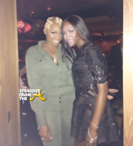 Instagram Flexin: #RHOA Nene Leakes Hangs Out With Naomi Campbell & More in NYC… [PHOTOS]