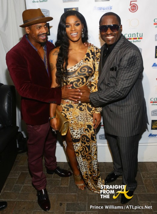 Stevie J, Joseline Hernandez & More Support Johnny Gill at ATL Live On The Park… [PHOTOS]
