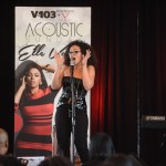 Quick Pics: Elle Varner Performs for V-103 Acoustic Sunday… [PHOTOS]
