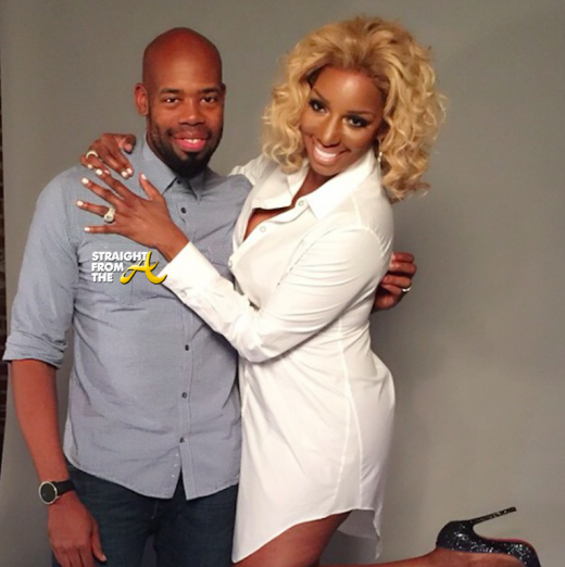 Derek Blanks and Nene Leakes - StraightFromTheA 1