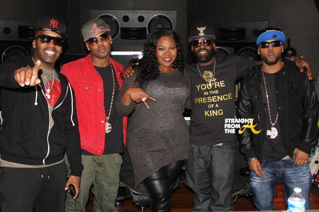 Jagged Edge and Michelle ATLien Brown - Straight From The A