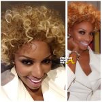 NEW 'DOO ALERT! #RHOA Nene Leakes Goes Curly for 'Secret' 90's R&B Project… [PHOTOS]