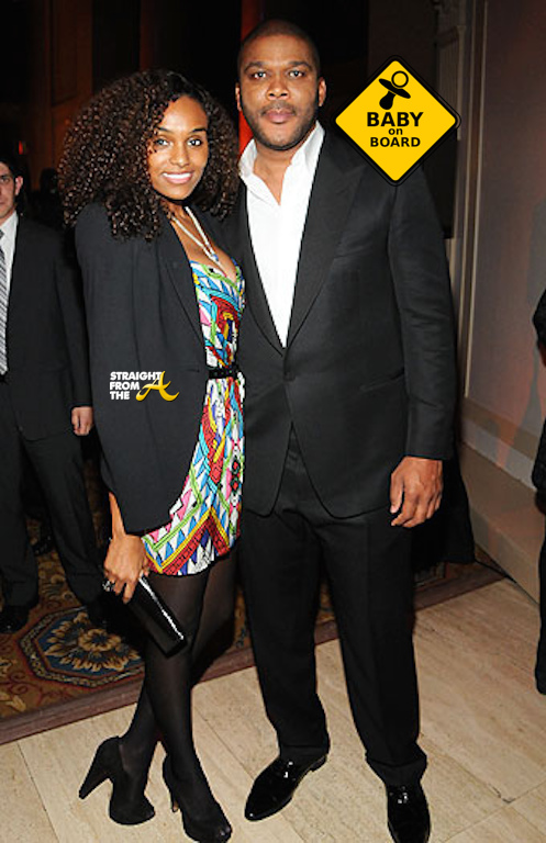 Tyler Perry Gelila Bekele Baby on Board