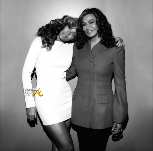 Beyonce and Mama Tina Knowles