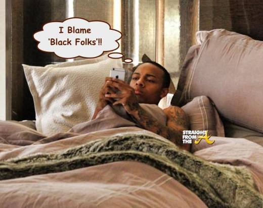 Bow Wow on iphone - StraightFromTheA