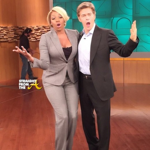 #RHOA Nene Leakes Talks 'Blood Clots & Toxic Relationships' on Dr. Oz… [VIDEO]