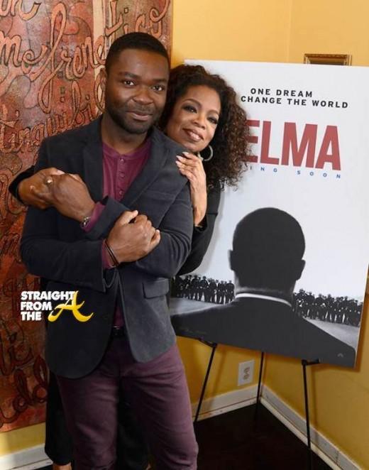 Oprah David Oyelowo - Selma Screening 2014