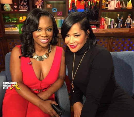 Kandi Burruss & Lisa Wu Dish Dirt On 'Watch What Happens LIVE!' [PHOTOS + VIDEO]