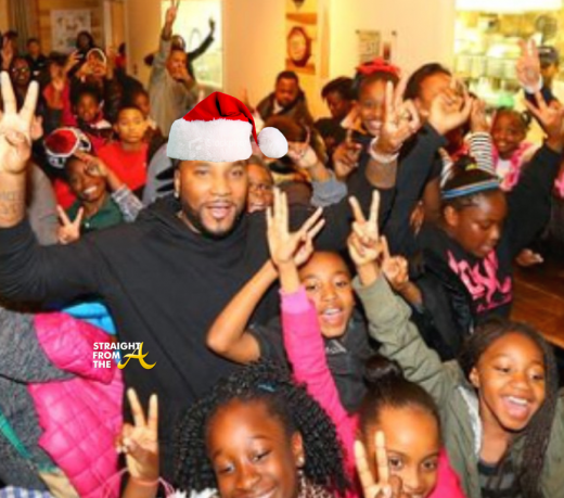 Young Jeezy Plays Santa for Street Dreams Foundation + Treats Strangers to 'Annie'… [PHOTOS]