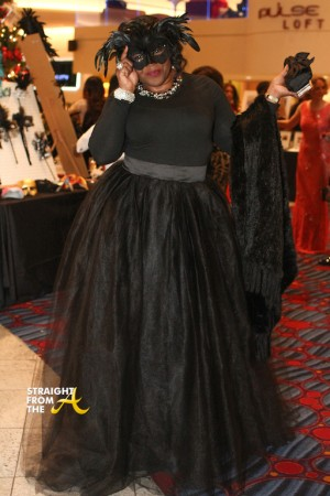 Michelle ATLien Brown - UNCF Mayor's Masked Ball 2014 - StraightFromTheA-38