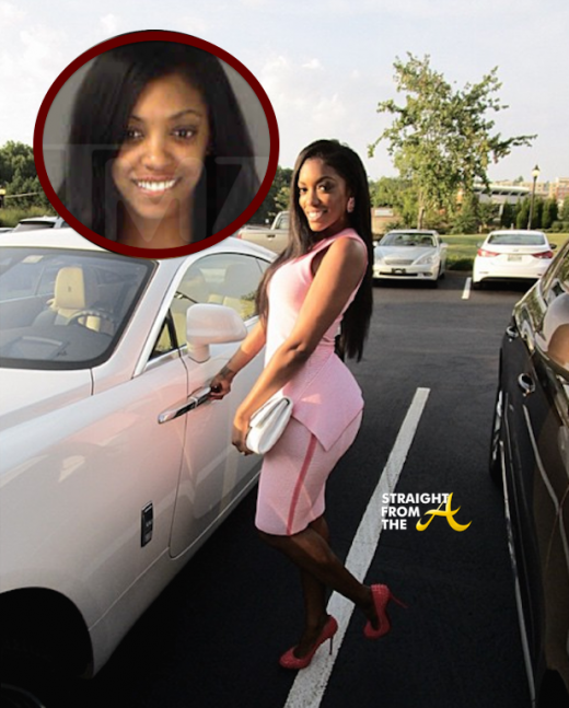Porsha Williams Arrested December 2014