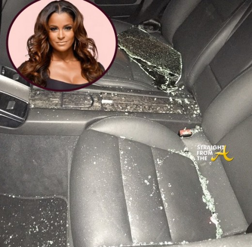Claudia Jordan Car Break In