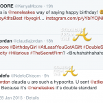 #RHOA Nene Leakes Issues 'Cease & Desist' To Kenya Moore & Claudia Jordan aka 'Team Petty'…