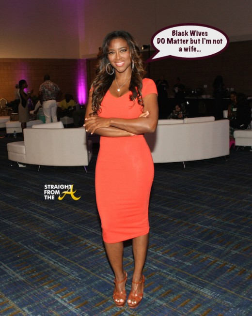THEY SAY: #RHOA Kenya Moore Behind Offensive 'Black Wives Matter' Posters…