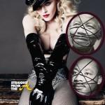 WTF?!? Madonna 'Defaces' Photos of Dr. Martin Luther King & Mandela & Explains Via Facebook… (PHOTOS)
