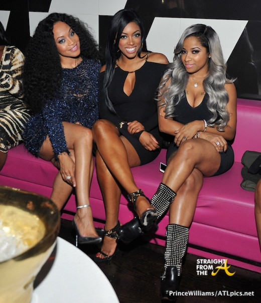 #RHOA Porsha Williams, Toya Wright, Monyetta Shaw, The-Dream & More at The Gold Room… [PHOTOS]