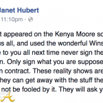 ON BLAST! Actress Janet Hubert 'Outs' #RHOA Kenya Moore's Hot Mess Production…