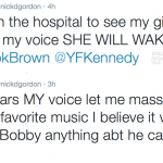 In The Tweets: Nick Gordon Pleads With Bobby Brown To Let Him See Bobbi Kristina…