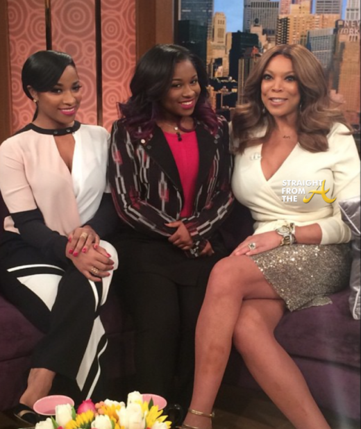 Toya Wright Reginae Carter Wendy Williams