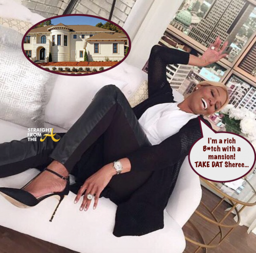 Nene Leakes Mansion StraightFromTheA