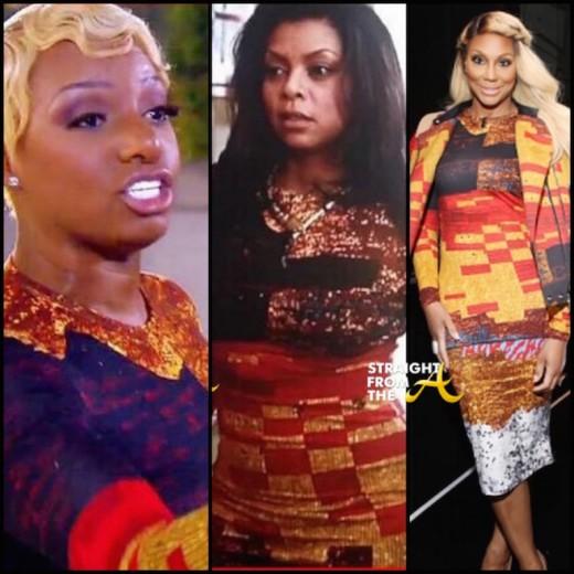 Nene Leakes Taraji P. Henson Tamar Braxton - Givenchy