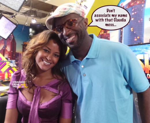 Claudia Jordan Rickey Smiley - StraightFromTheA