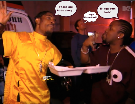 FLASHBACK: Outkast Debate Bat's vs Birds???  [VINTAGE VIDEO]