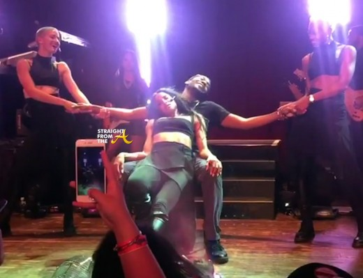 Ciara Lap Dance Chicago 2