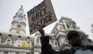 FreddieGray protests