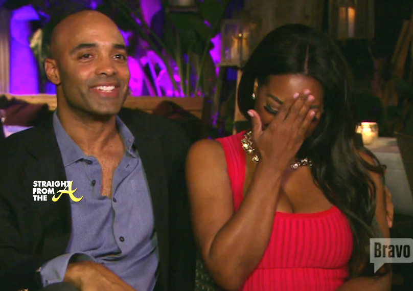 Quick Quotes: Kenya Moore Claims Single Because Black Men Are Gay, In Jail 3