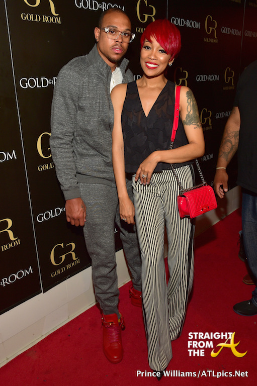 Monica & Shannon Brown Party w/ Eve & More at The Gold Room… [PHOTOS]