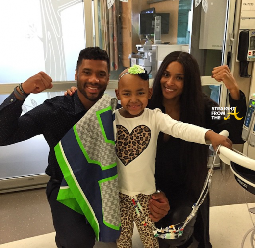 Instagram Flexin: Ciara and Russell Wilson Visit Children's Hospital…