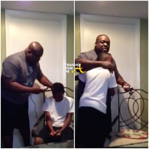 Father Chooses Hugs Over Humilation